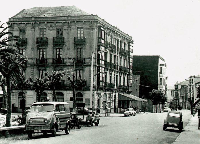 Imagen de la Calle Regueral, años 60 (Navia)