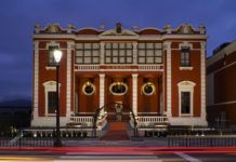 Casino de Navia tras su reciente recuperación