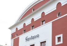 El Cine Fantasio (Navia) en el día de su inauguración