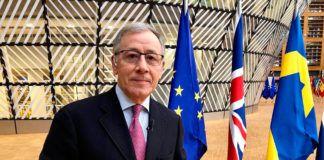 José Ramón Patterson, corresponsal de TVE en Bruselas
