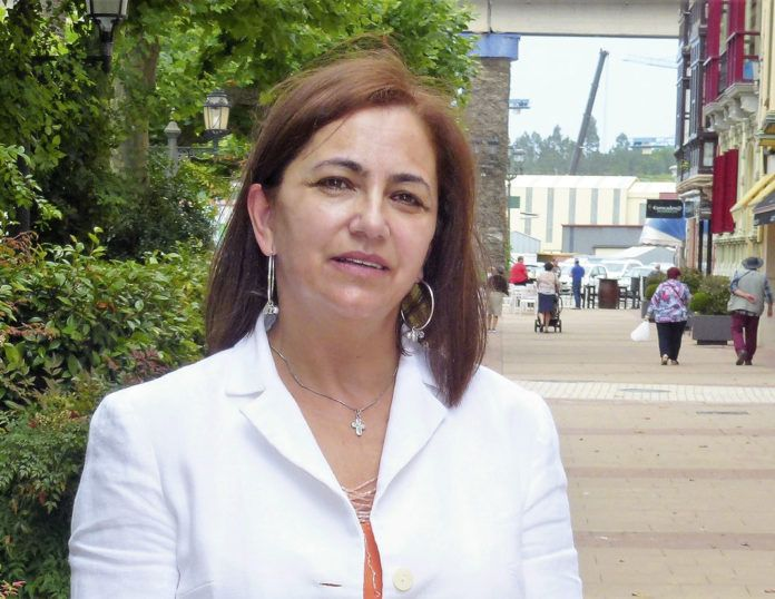 Julia María López, Presidenta de la Asociación de Empresarios de Navia