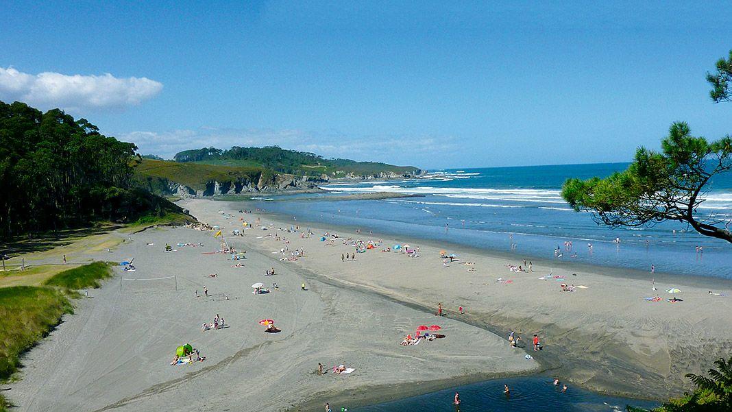 Playa de Frejulfe, Navia