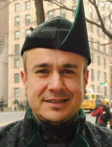 Luis Feito, director de la Banda de Gaitas La Reina del Truébano