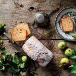 Bizcocho de manzana y harina de escanda. Blog Tatin