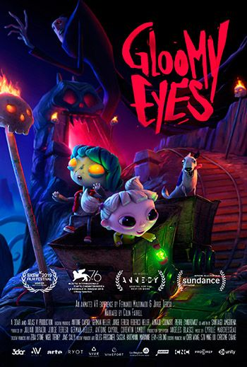 Poster promocional de Groomy Eyes