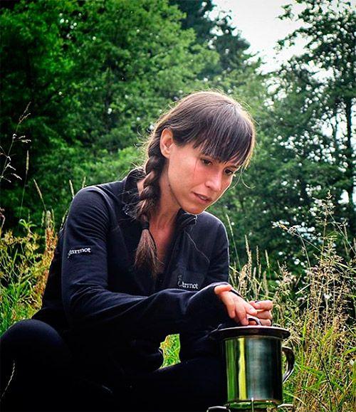Anina Anyway en los Cárpatos