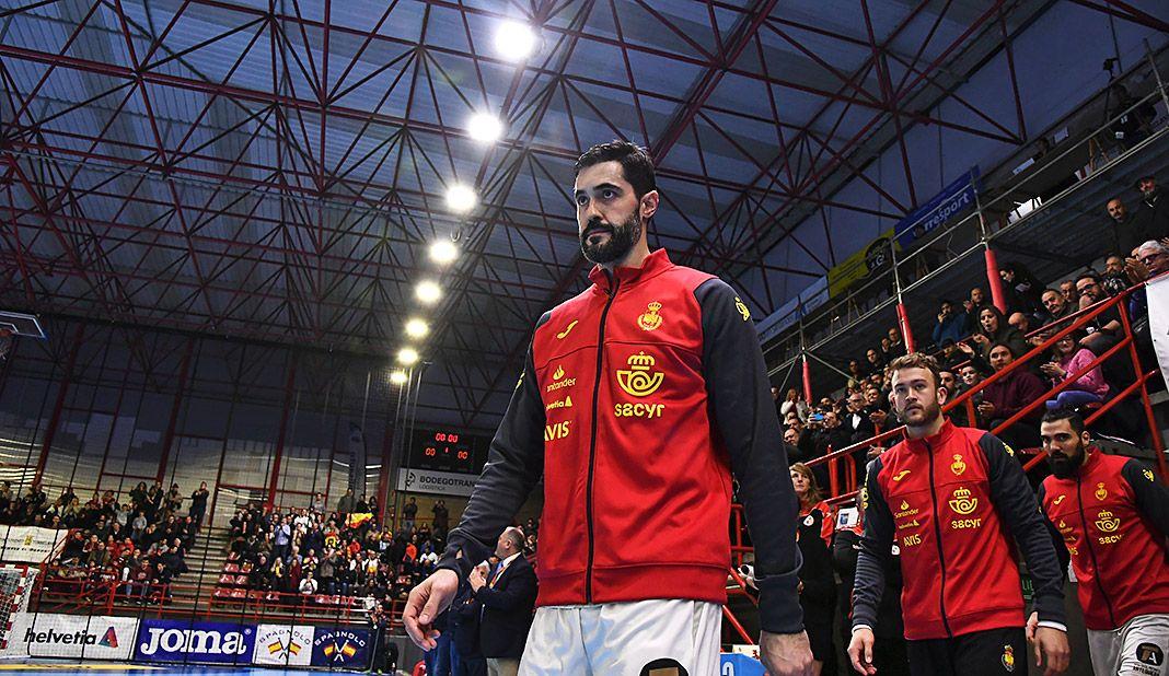 Raúl Entrerríos, jugador del FC Barcelona de Balonmano y de la Selección Española