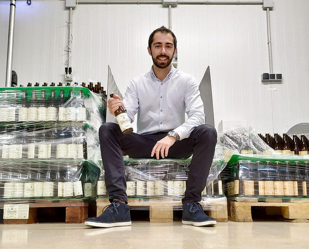 Sergio Seronero es uno de los jóvenes impulsores de la iniciativa empresarial Zángana