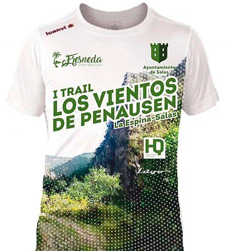 Camiseta oficial del  I Trail Los Vientos de Penausén