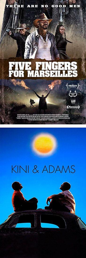Cine africano: Five Fingers por Marseilles y Kini & Adams