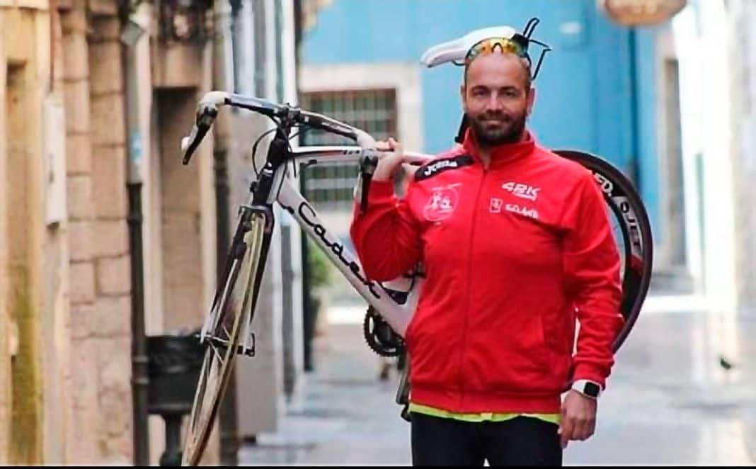 José Luis Somoano. Organizador del Ultra Triatlón Tierra Astur