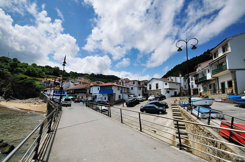 Barrio de San Roque, Tazones (Villaviciosa). Foto de archivo / Foto: Fusión Asturias