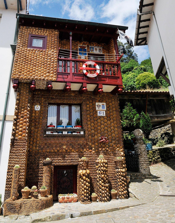 La Casa Les Conches, Tazones (Villaviciosa). Foto de archivo / Foto: Fusión Asturias