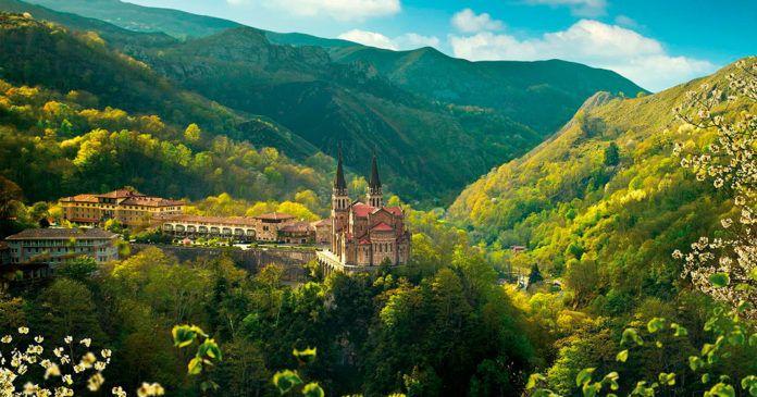 Entorno de la Basílica de Covadonga (Cangas de Onís)