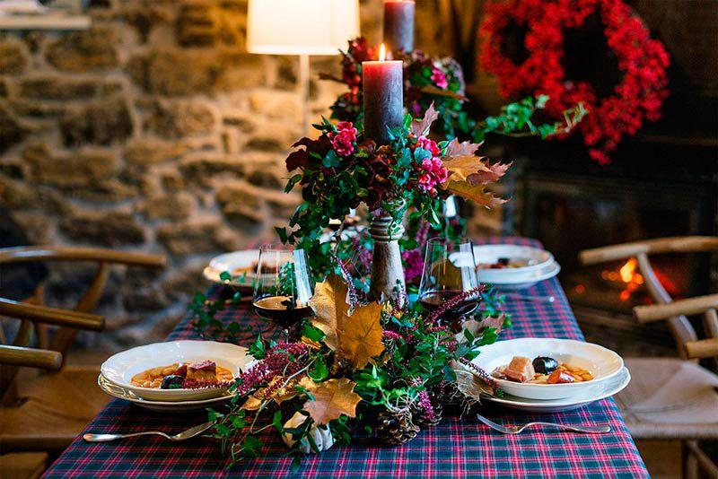 Cena de Navidad con las Cajas Regalo Esther y Nacho Manzano