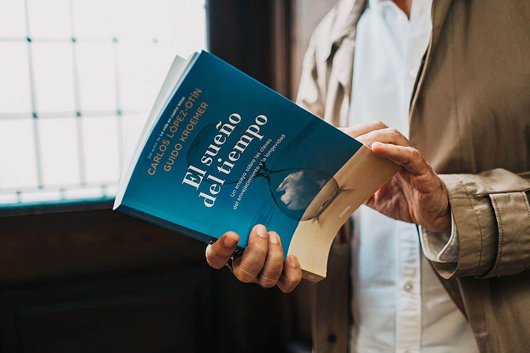 """""""El sueño del tiempo"""",, libro de Carlos López-Otín"""