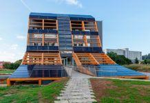 Edificio bioclimático Greenspace, ubicado en el Parque Cientítfico Tecnológico de Gijón