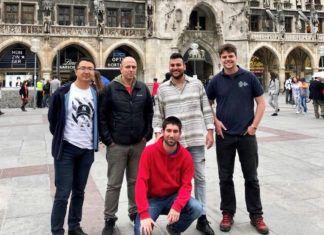 Miembros del equipo de investigadores de la Universidad de Oviedo Nano-óptica Cuántica