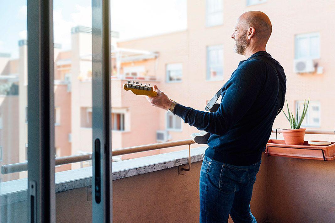 Música en la terraza