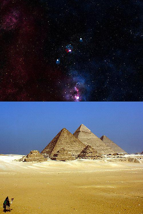 Relación entre la constelación de Orión y las Pirámides de Egipto
