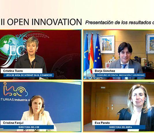 Presentación de proyectos Open Innovation 4.0