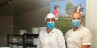 La pareja de emprendedores Rocío Viejo y Pablo Ruiz