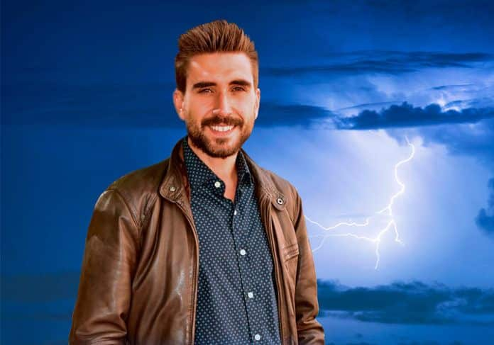 Adrián Cordero, periodista de La Sexta especializado en meteorología