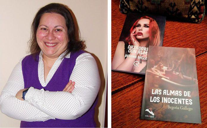 Begoña Gallego, autora de las novelas Cazadores con alma y Las almas de los inocentes