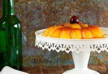 Flan de sidra, receta del blog El toque de Belén