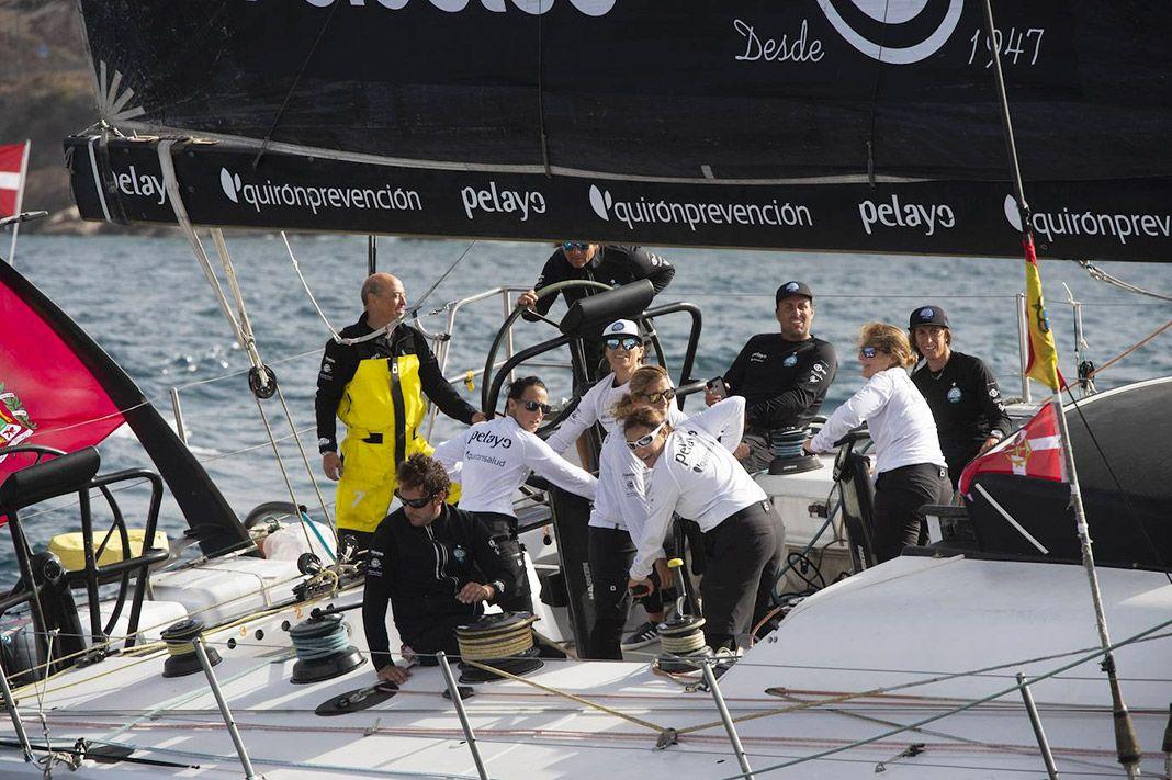Imagen del equipo Reto Pelayo Vida. Vuelta a España a Vela 2020