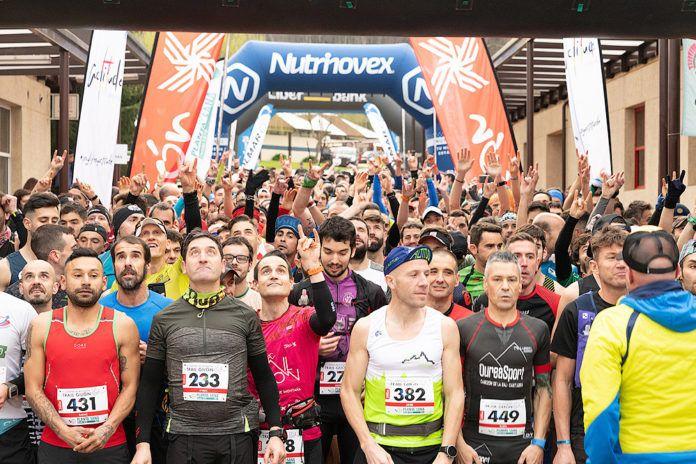 Participantes en una edición anterior del Trail de Gijón
