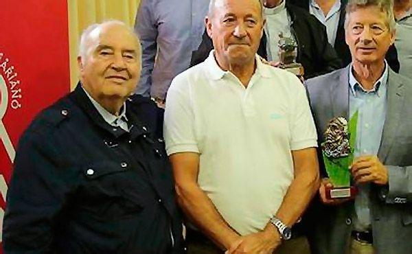 Chema Valdés recogiendo el Premio Delfos 2008