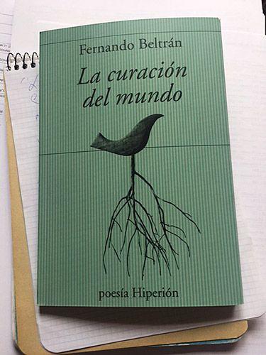 La curación del mundo, libro de poemas escritos por Fernando Beltrán