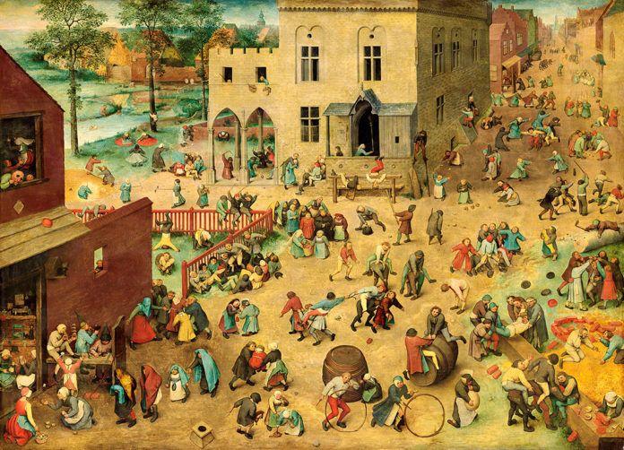 Juego de niños de Pieter Bruegel