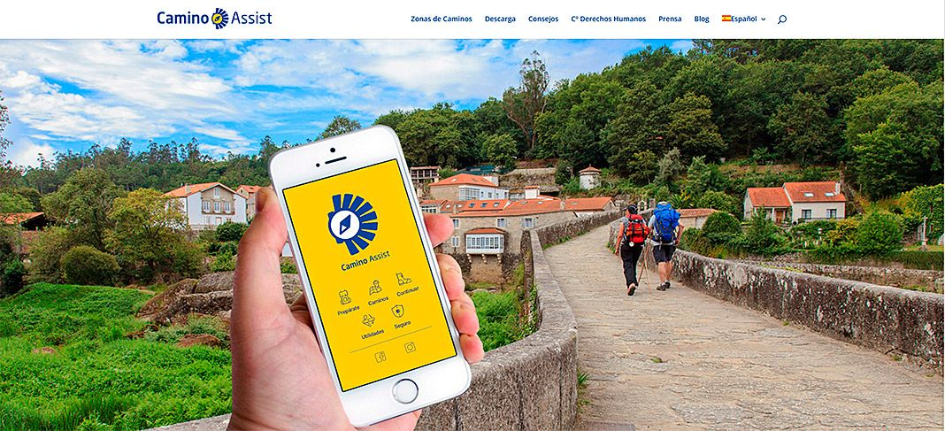 App Camino Assist creada por Where is Asturias