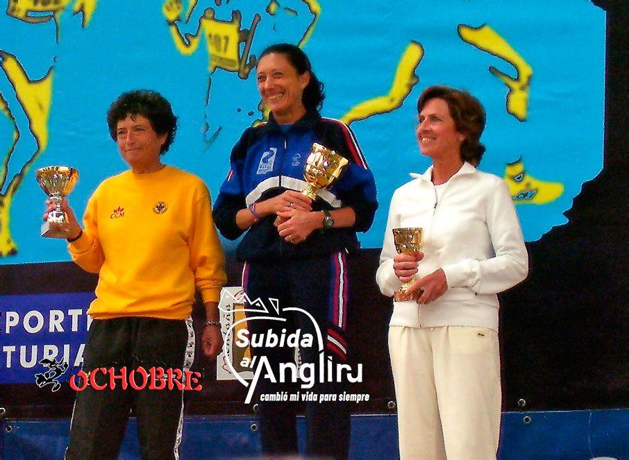Carmen Corujo ganó en 2005 la Subida al Angliru