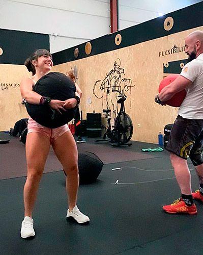 Dana Rodríguez, deportista de crossfit y halterofilia