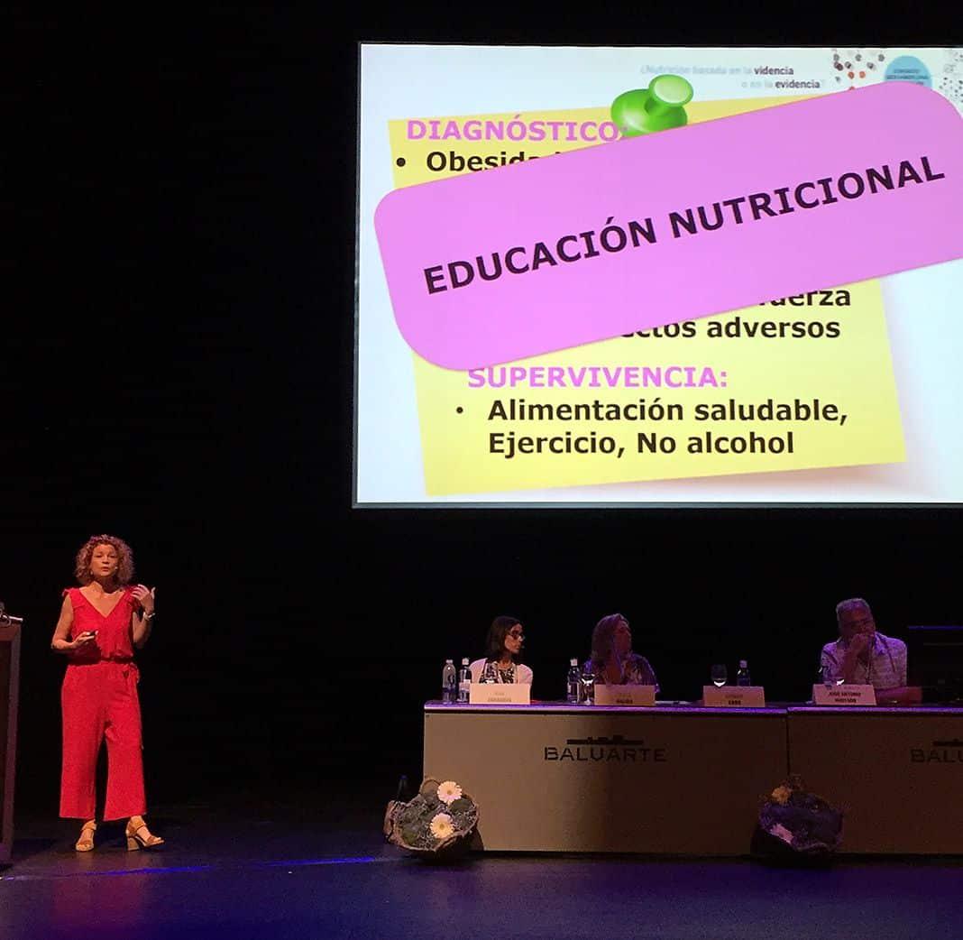 Liliana Cabo, nutricionista