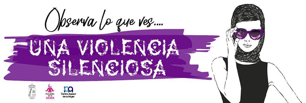 Imagen de la campaña Observa lo que ves, una violencia silenciosa