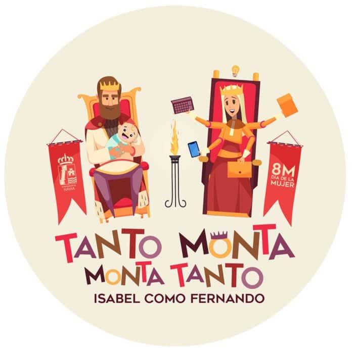 Imagen de la campaña 'Tanto monta, monta tanto Isabel como Fernando'