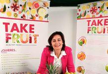 Nuria Pérez, emprendedora de Take Fruit