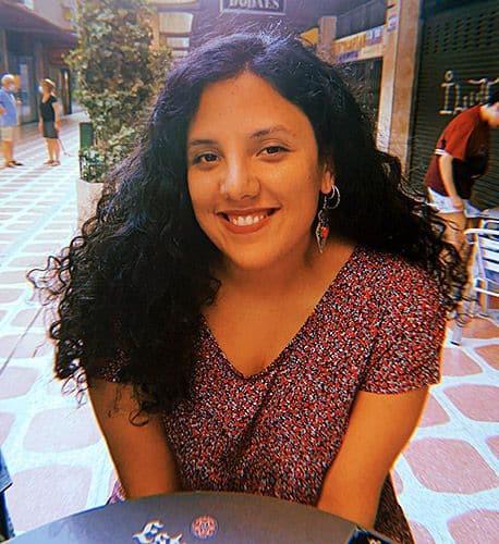 Sara Combarros, de la Asamblea Moza d'Asturies (AMA)