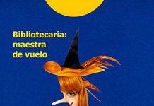 'Bibliotecaria: maestra de vuelo', un collage de Paco Abril