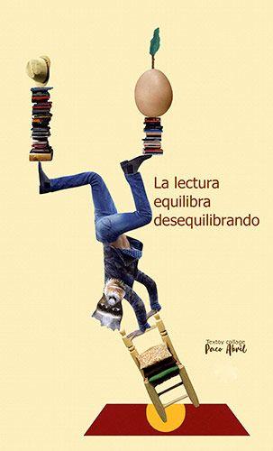 Collage 'Lectura y equilibrio' realizado por Paco Abril