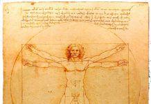 El Hombre de Vitruvio de Leonardo da Vinci