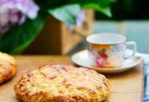 Empanada de arroz con leche y manzana a la sidra, del blog El Paraíso de los Golosos