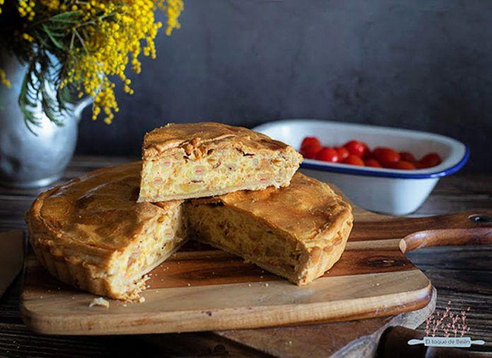 Empanada de tortilla, receta elaborada por Belén Delgado, del blog El toque de Belén