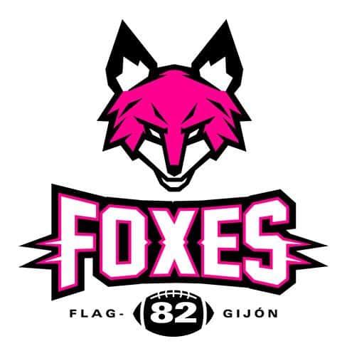Fox 82, equipo femenino de Flag Football de Gijón