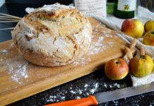 Pan de sidra y manzana con escanda, del blog El Paraíso de los Golosos