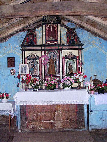 Retablo de la capilla de San Antonio. Argul, Pesoz (Asturias)